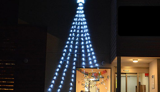 クリスマスにおすすめ!LEDイルミネーション装飾 ドレープナイアガラライトについて